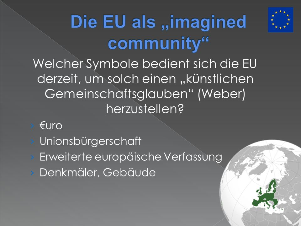 "Die EU als ""imagined community"