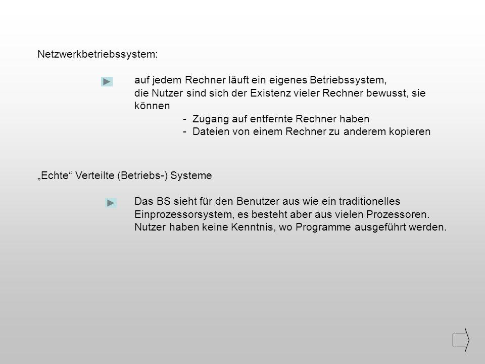 Netzwerkbetriebssystem: