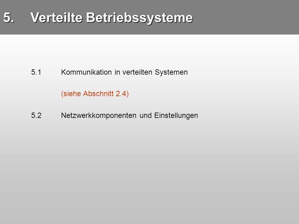 Verteilte Betriebssysteme