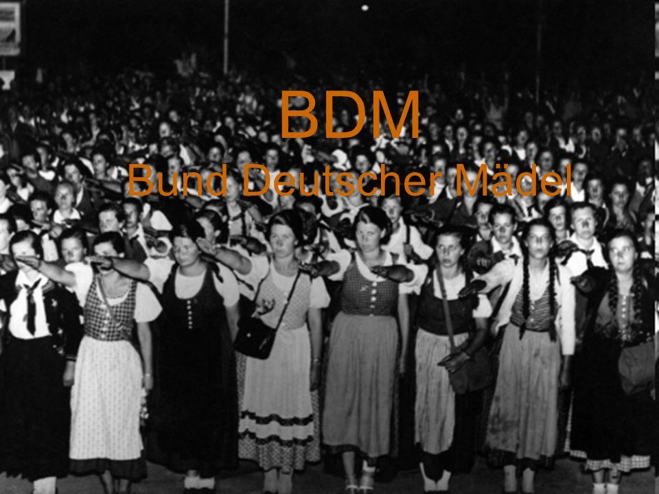BDM Bund Deutscher Mädel