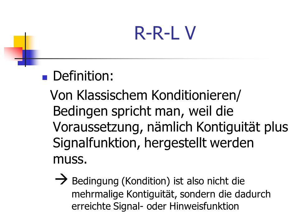 R-R-L V Definition: