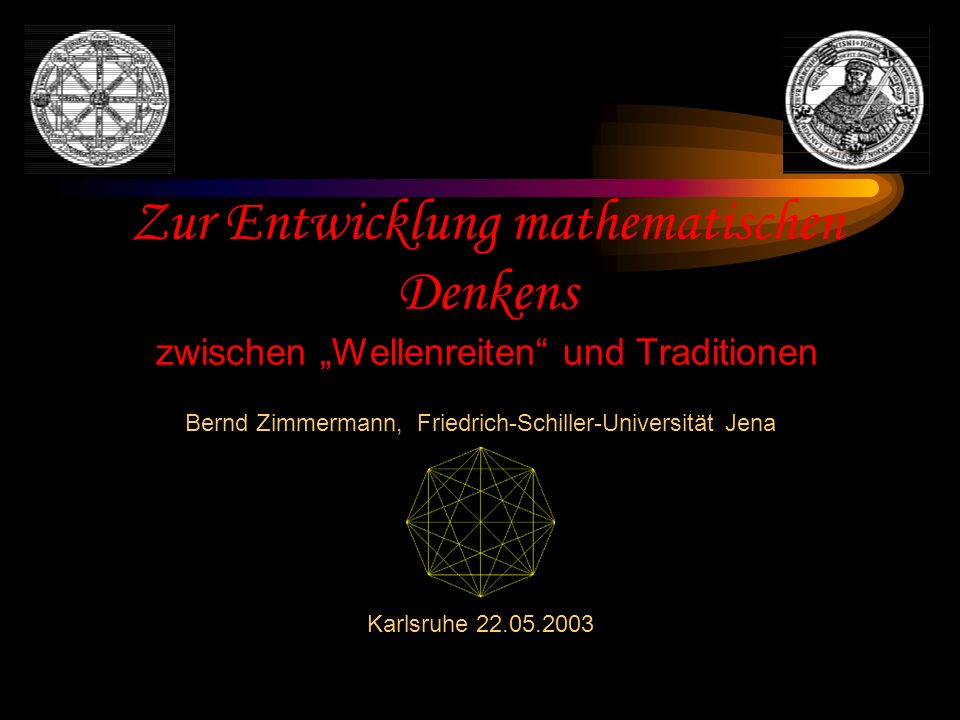 Bernd Zimmermann, Friedrich-Schiller-Universität Jena