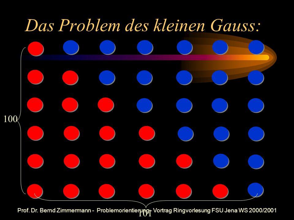 Das Problem des kleinen Gauss: