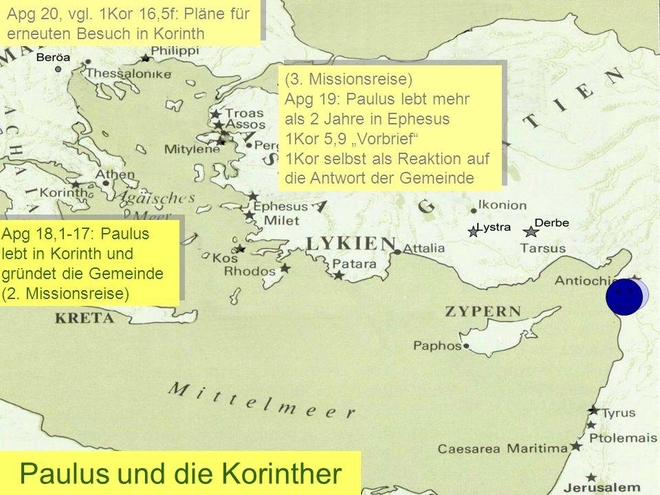 Paulus und die Korinther
