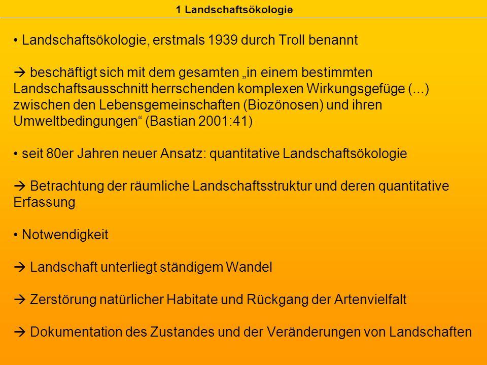 1 Landschaftsökologie