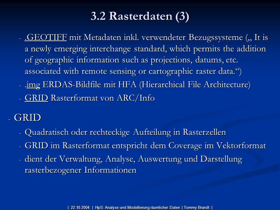 3.2 Rasterdaten (3)