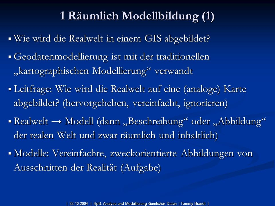 1 Räumlich Modellbildung (1)