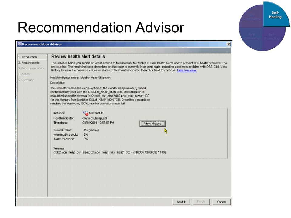 Recommendation Advisor