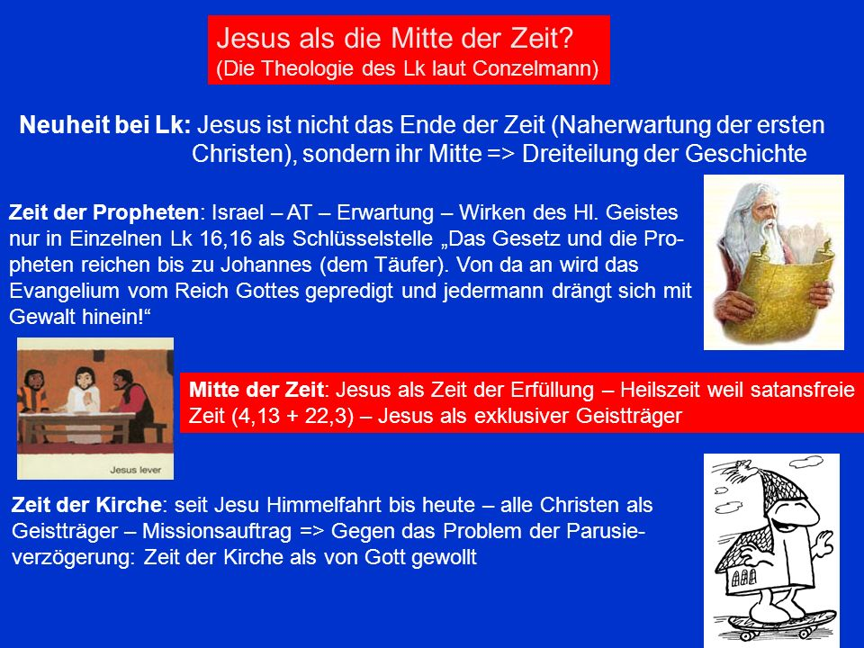Jesus als die Mitte der Zeit