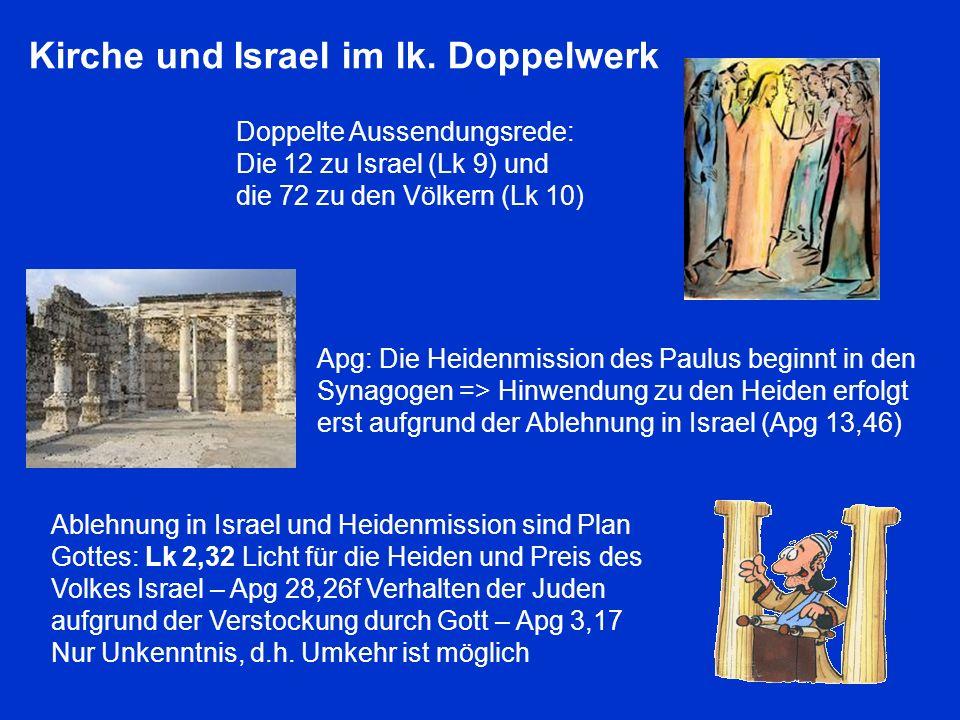 Kirche und Israel im lk. Doppelwerk