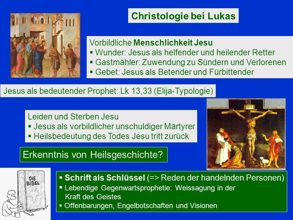 Christologie bei Lukas