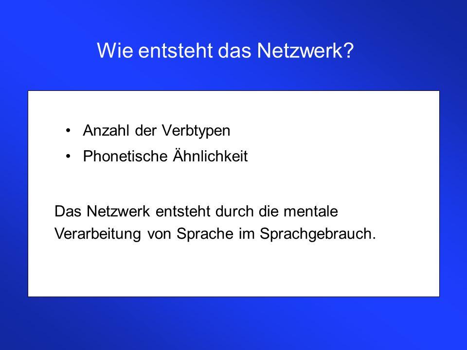 Wie entsteht das Netzwerk