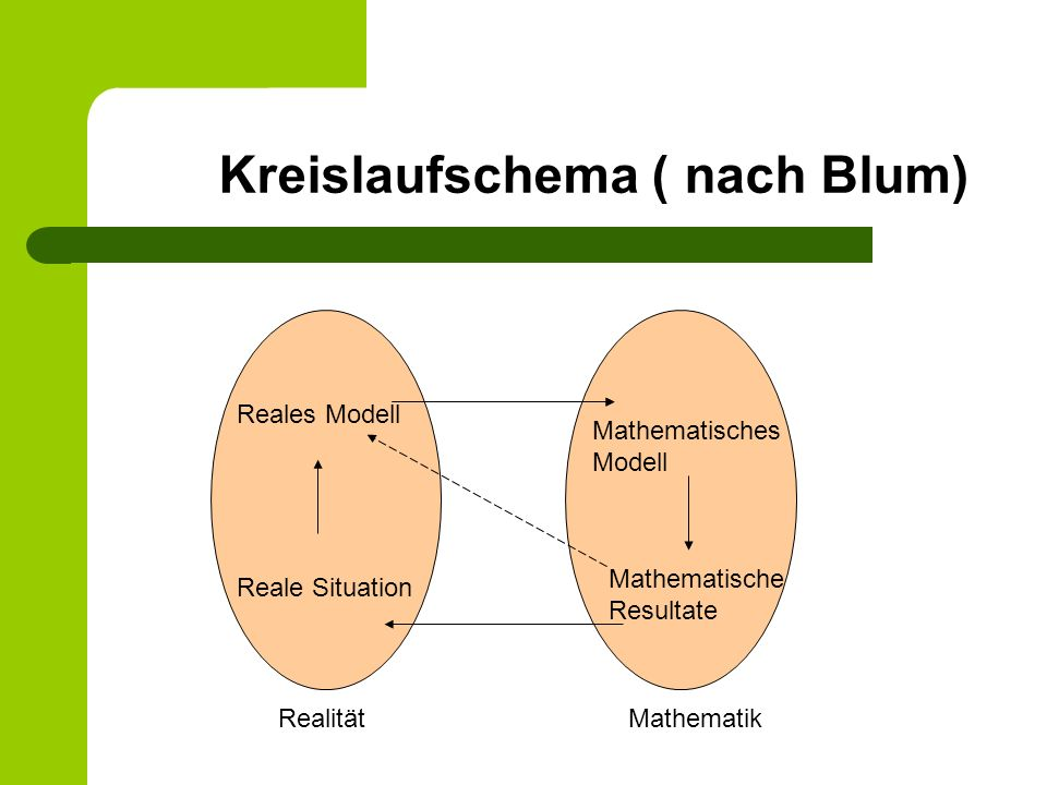 Kreislaufschema ( nach Blum)