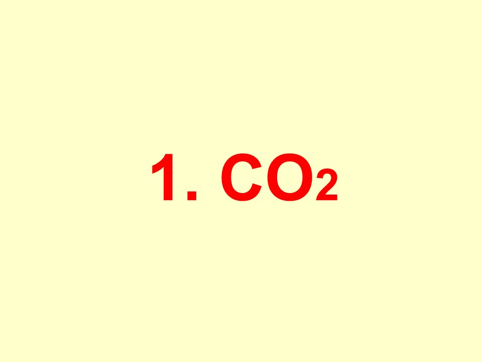 1. CO2
