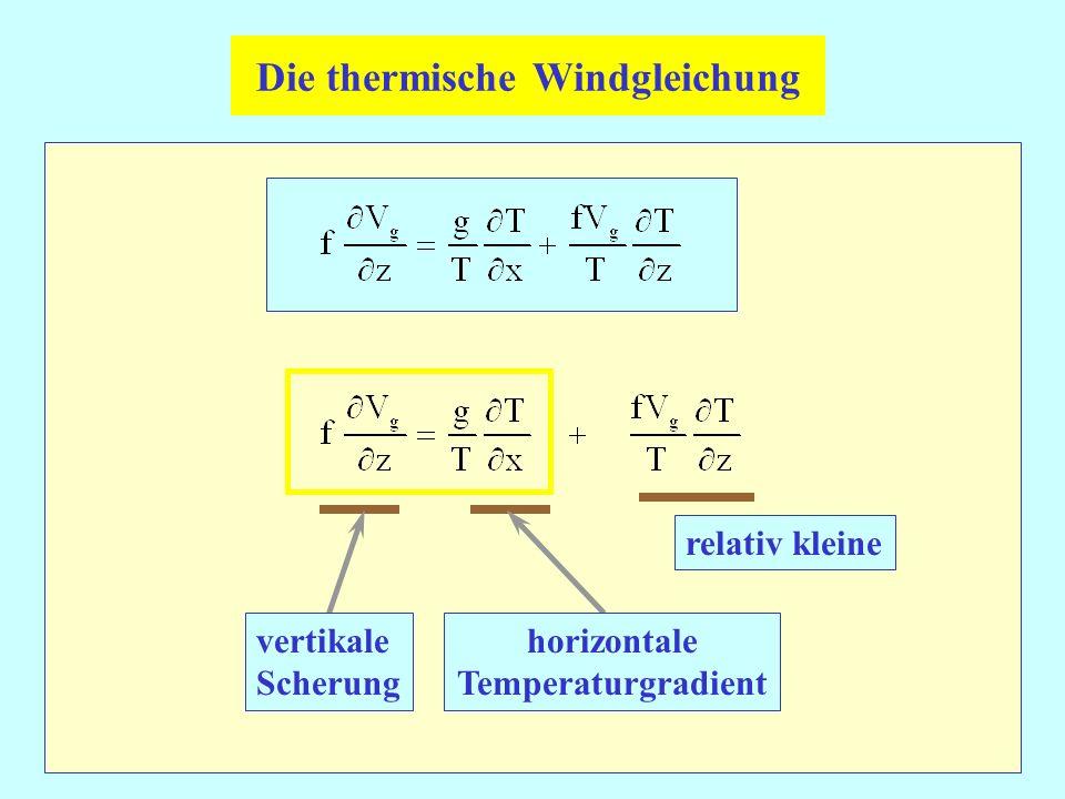 Die thermische Windgleichung