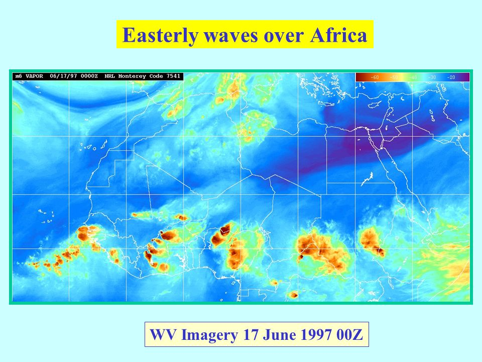 Easterly waves over Africa