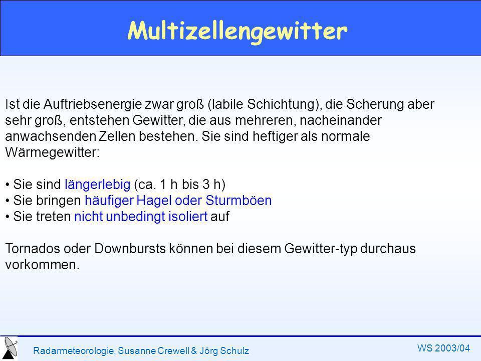 Multizellengewitter