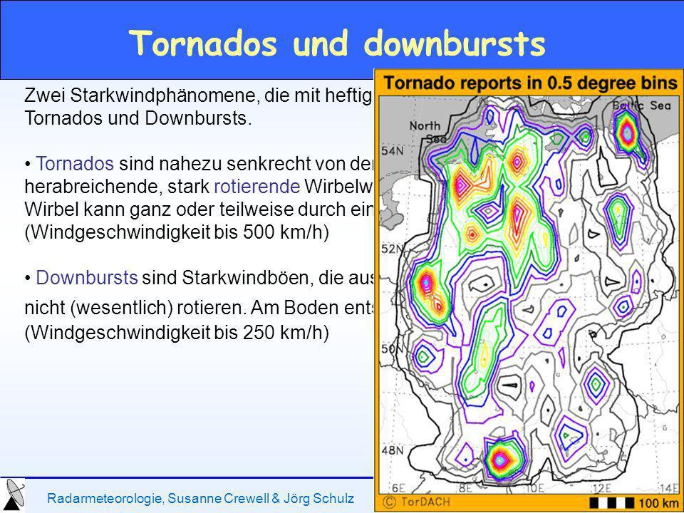 Tornados und downbursts