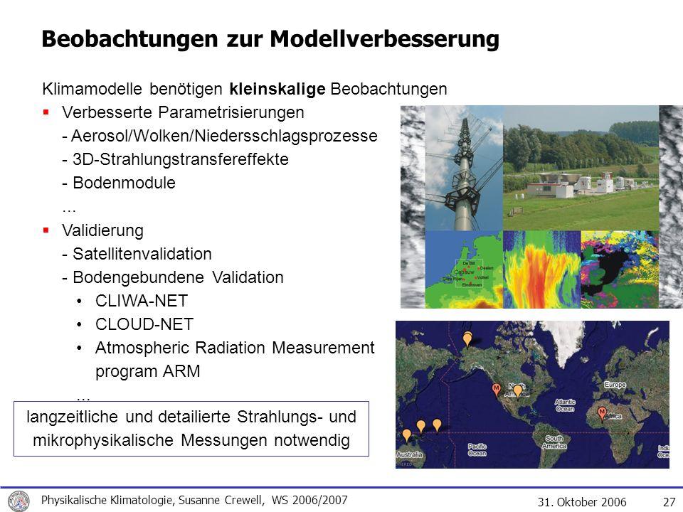 Beobachtungen zur Modellverbesserung