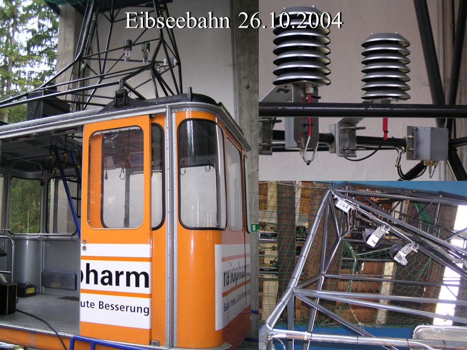 Eibseebahn 26.10.2004 Eibseebahn 26.10.2004 T F Ansteuerelektronik