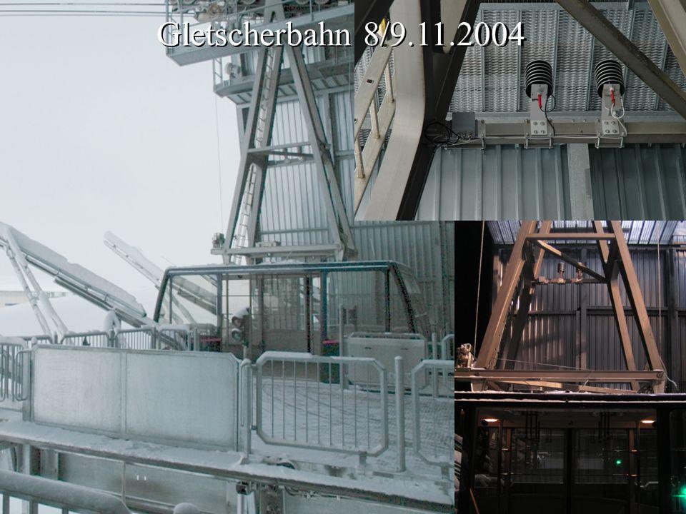 Gletscherbahn 8/9.11.2004 Gletscherbahn 8/9.11.2004