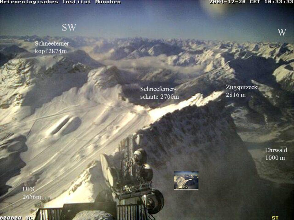 Bild 20.12.2004 SW W Schneeferner- kopf 2874m Zugspitzeck