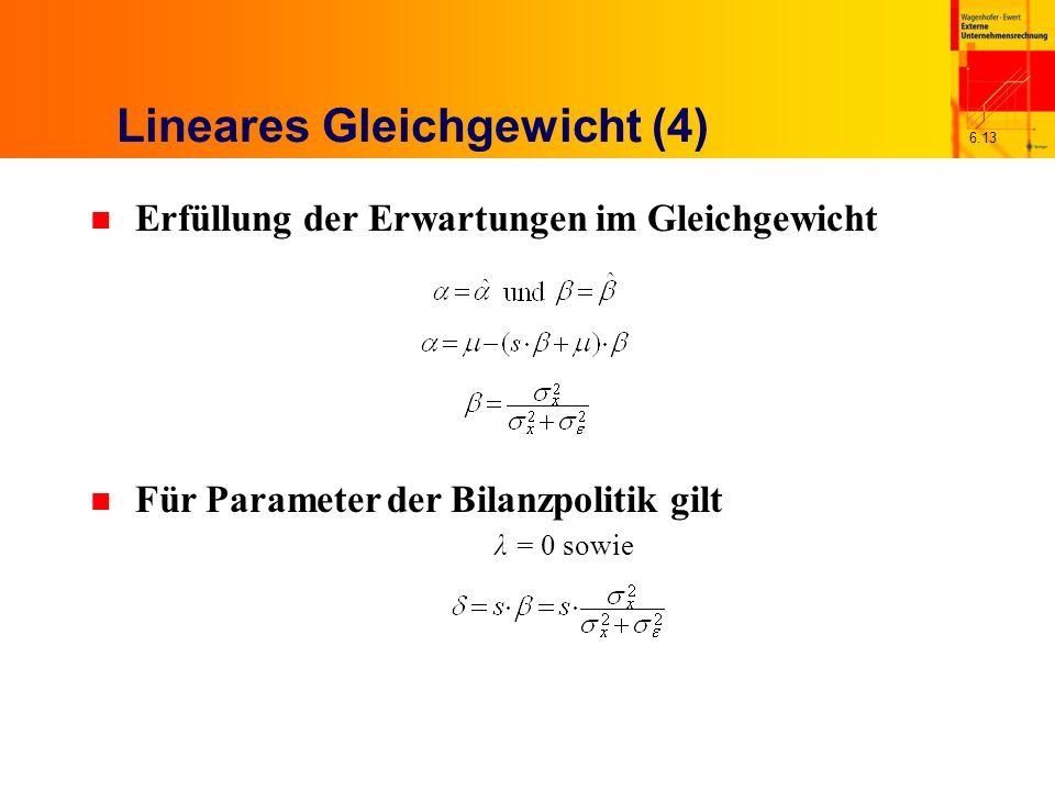 Lineares Gleichgewicht (4)