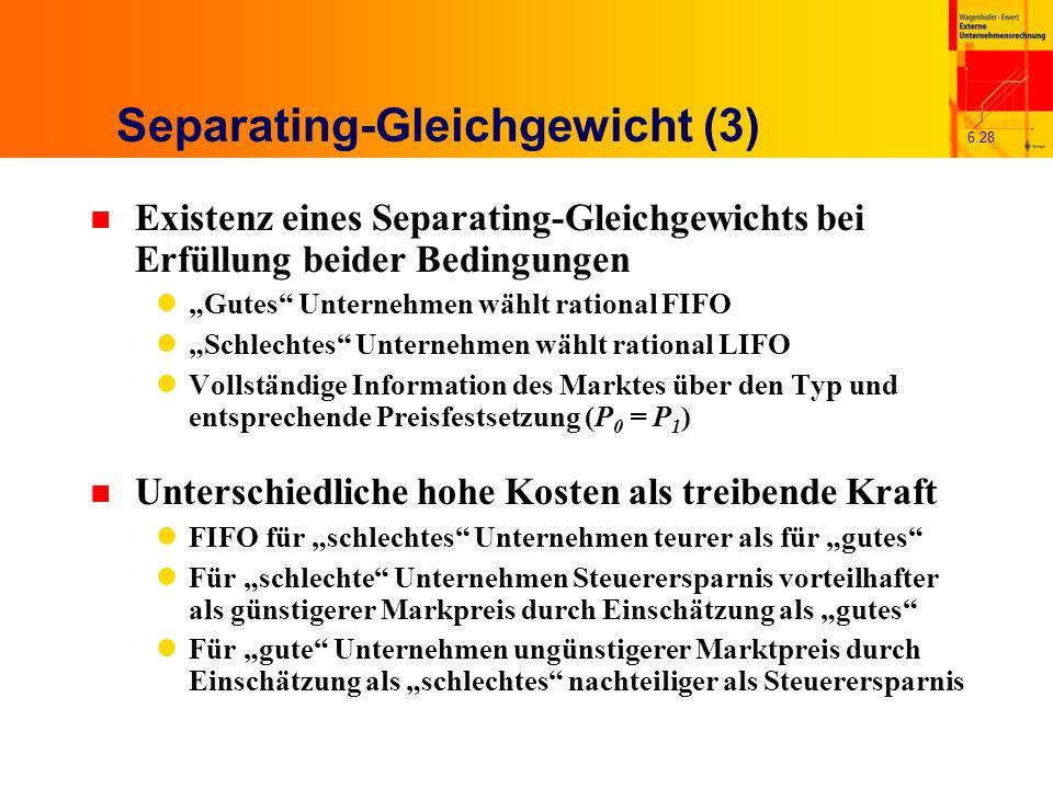 Separating-Gleichgewicht (3)