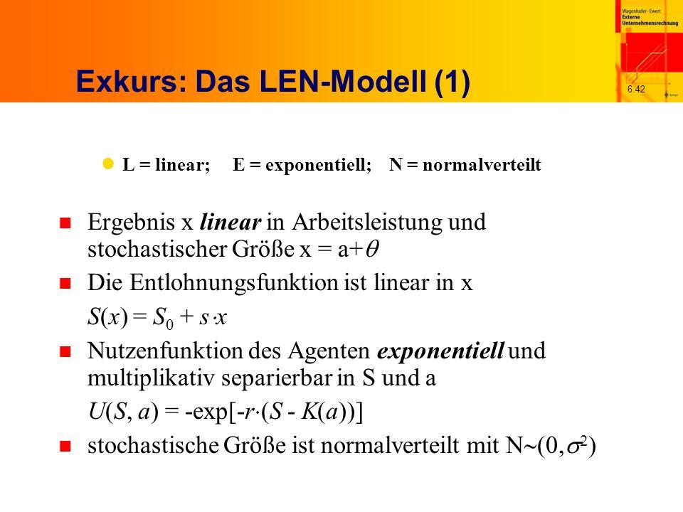Exkurs: Das LEN-Modell (1)