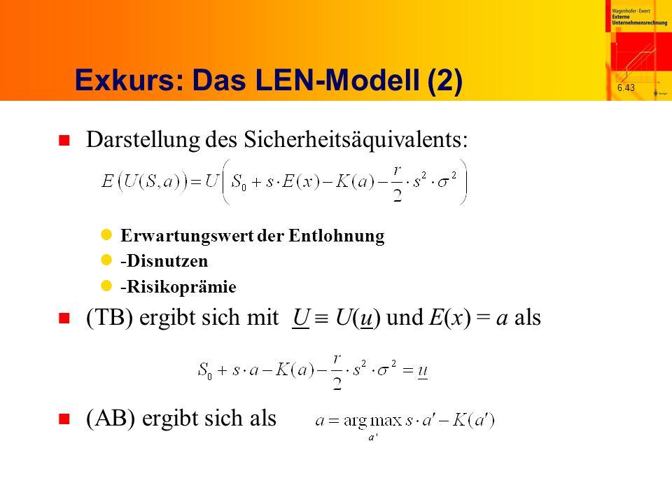 Exkurs: Das LEN-Modell (2)