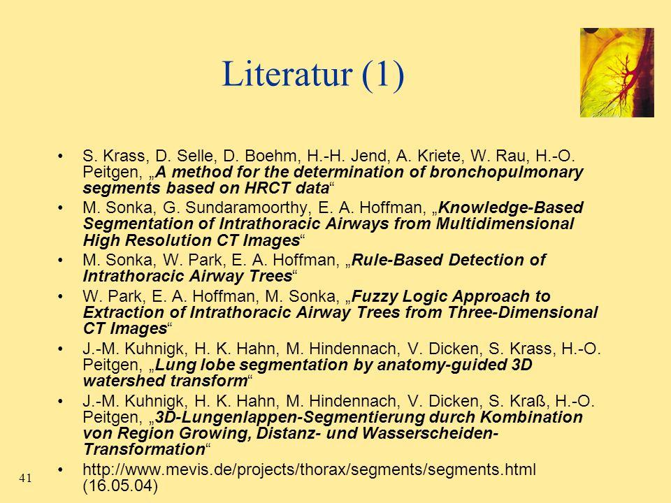 Literatur (1)