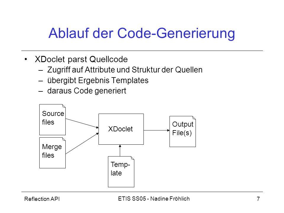 Ablauf der Code-Generierung
