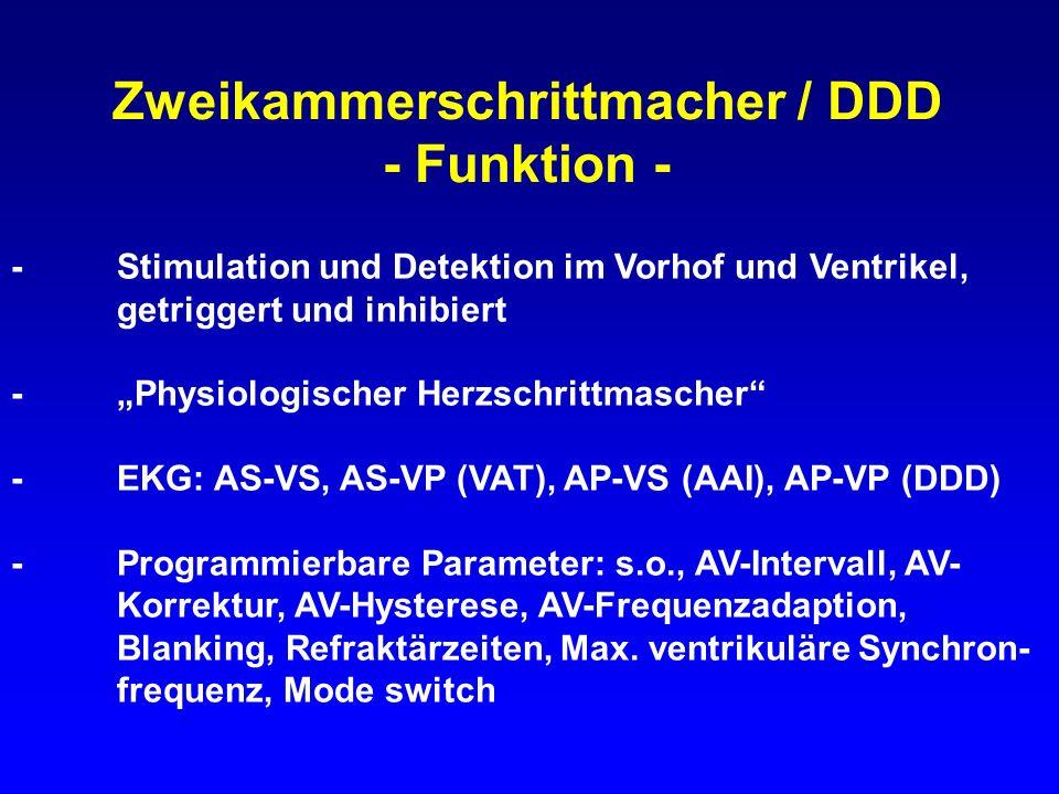 Zweikammerschrittmacher / DDD