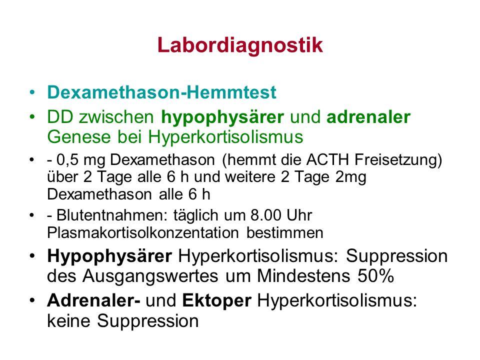 Labordiagnostik Dexamethason-Hemmtest