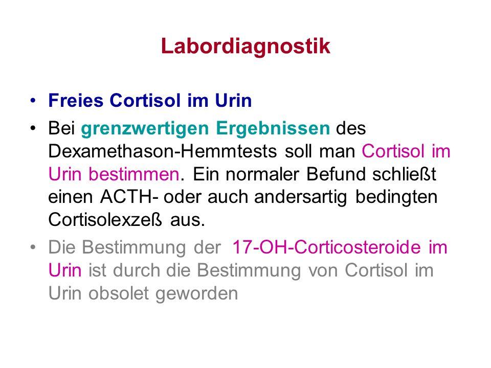 Labordiagnostik Freies Cortisol im Urin