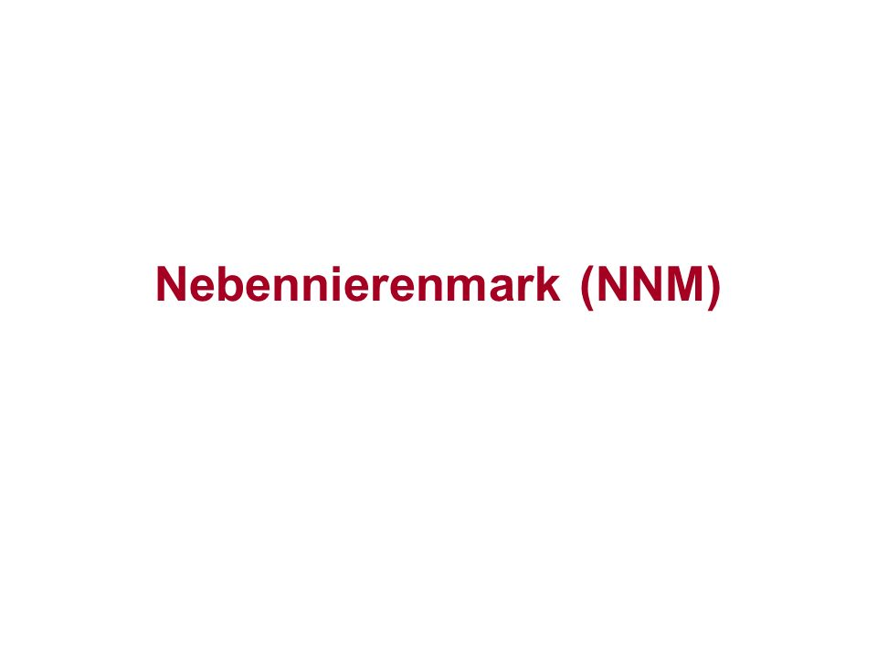Nebennierenmark (NNM)