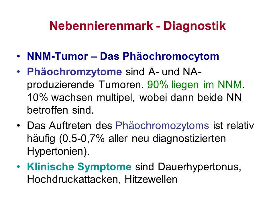 Nebennierenmark - Diagnostik