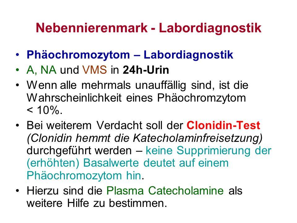 Nebennierenmark - Labordiagnostik
