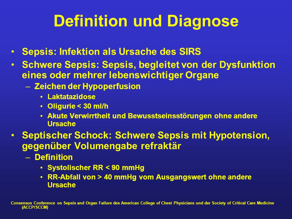 Definition und Diagnose