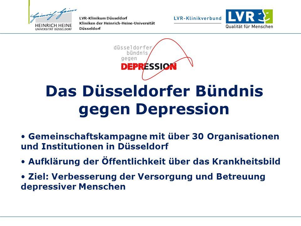 Das Düsseldorfer Bündnis gegen Depression