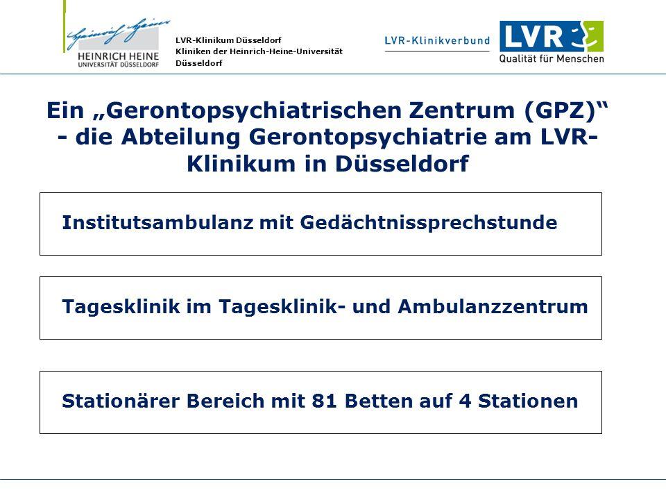 """Ein """"Gerontopsychiatrischen Zentrum (GPZ)"""