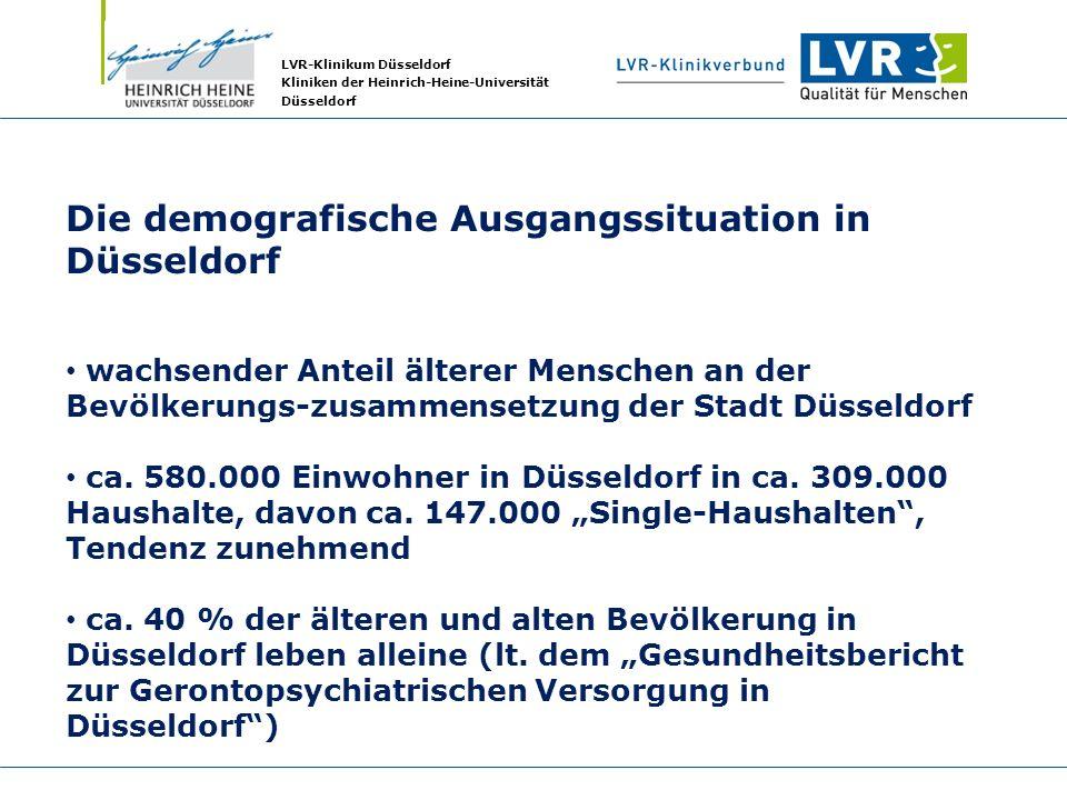Die demografische Ausgangssituation in Düsseldorf