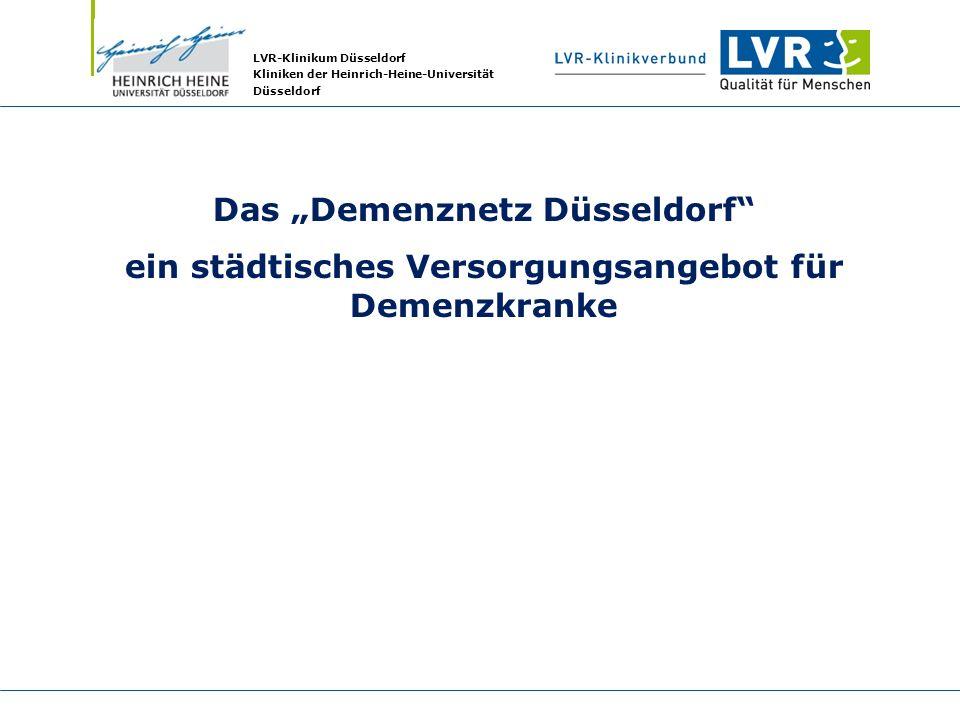 """Das """"Demenznetz Düsseldorf"""