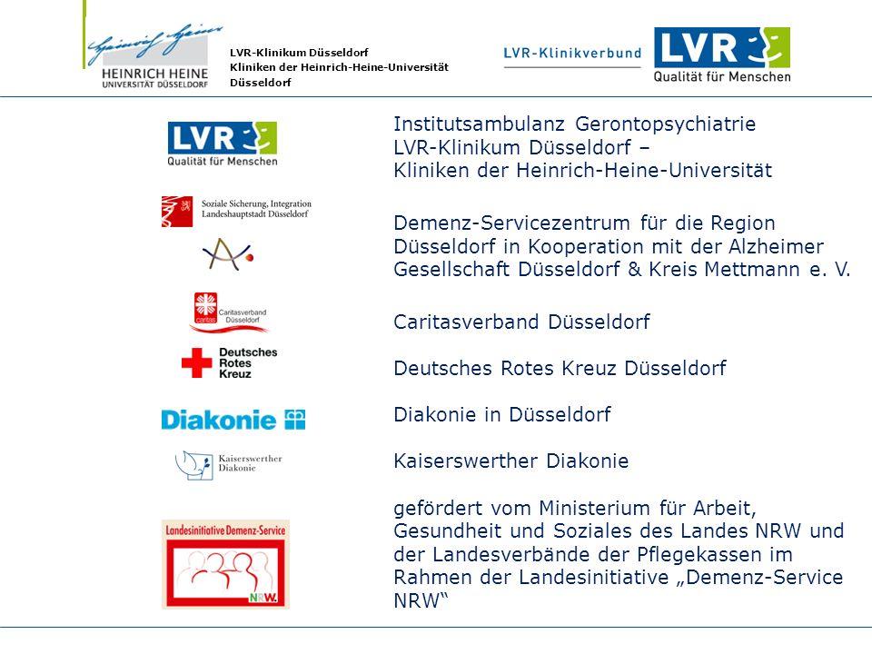Institutsambulanz Gerontopsychiatrie LVR-Klinikum Düsseldorf –
