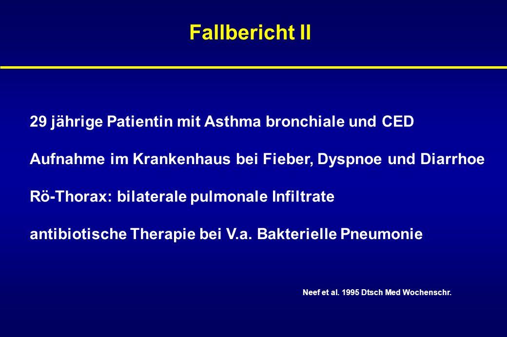 Fallbericht II 29 jährige Patientin mit Asthma bronchiale und CED