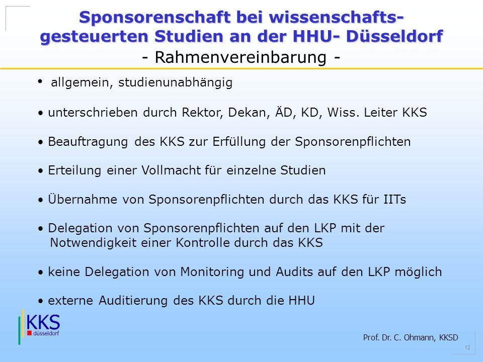 - Rahmenvereinbarung -