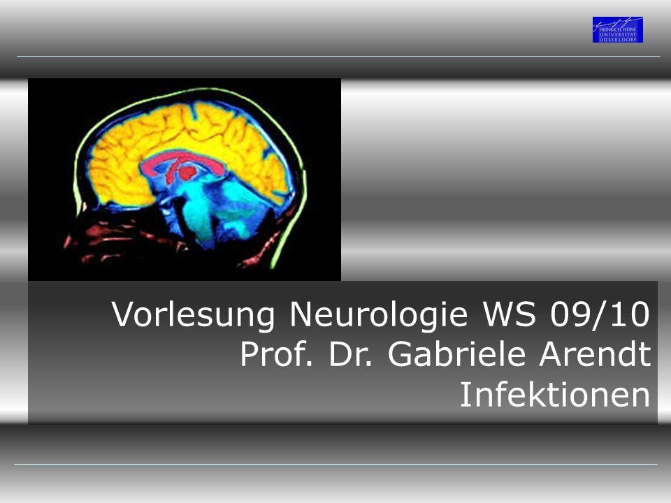 Vorlesung Neurologie WS 09/10
