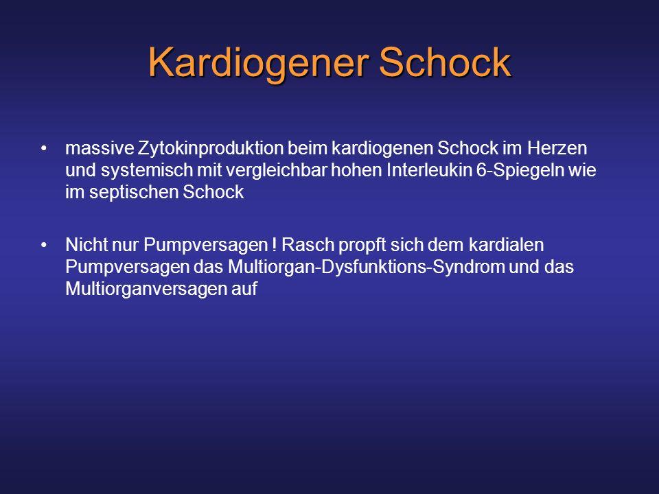 Kardiogener Schock