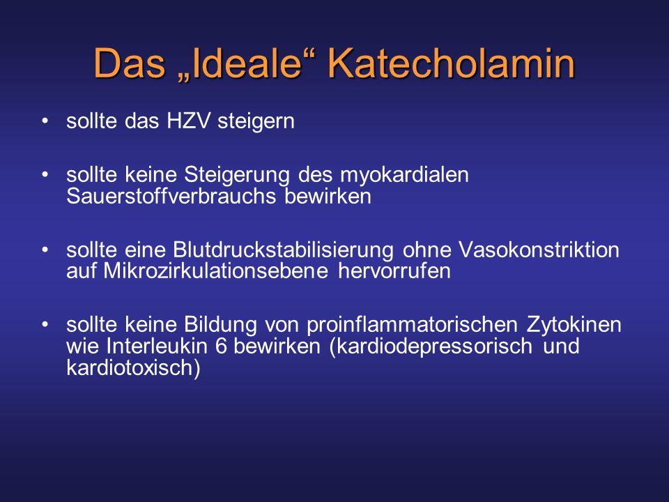 "Das ""Ideale Katecholamin"