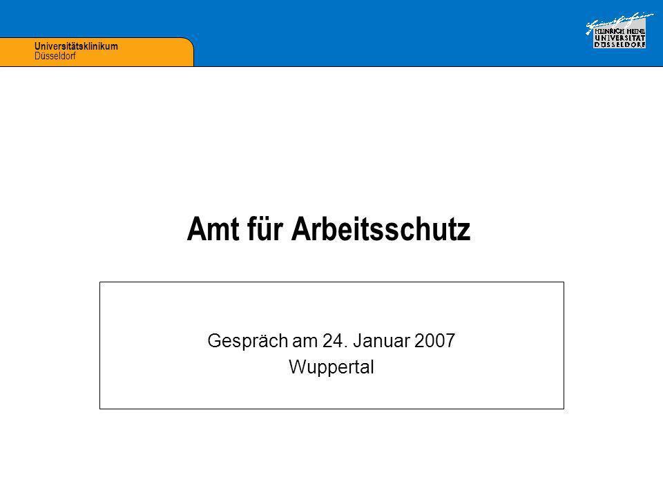 Gespräch am 24. Januar 2007 Wuppertal